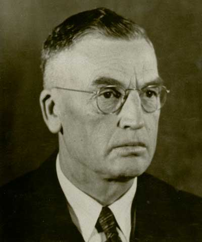 E. S. Dyas, Ames, Iowa, ASA president 1935-36