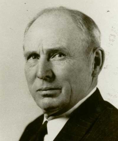John W. Evans, Montevideo, Minn., ASA president 1949-51