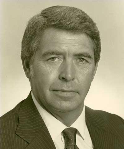 George Fluegel, Leroy, Ill., ASA president 1985-86