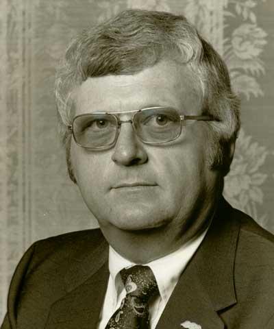 Frank Ray, Baker, Fla., ASA president 1980-81