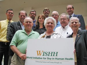 This is the board of the World Initiative for Soy in Human Health in 2010.