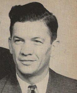 George Strayer, ASA executive secretary, the association's first paid employee.